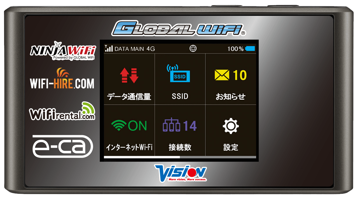 Blazing Fast 4G LTE Network - Japan Rail Pass