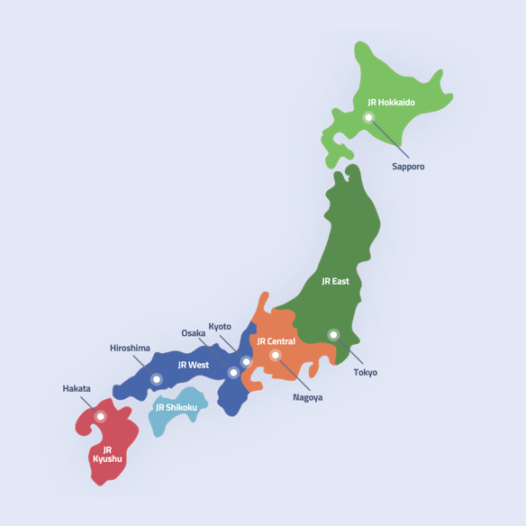 Japan Rail Pass - Regional Passes